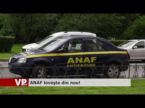 ANAF lovește din nou