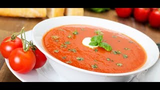 You can make tomato soup at home in short time Tomato soup is one of the tastiest and refreshing soups, juicy and tangy to taste ...