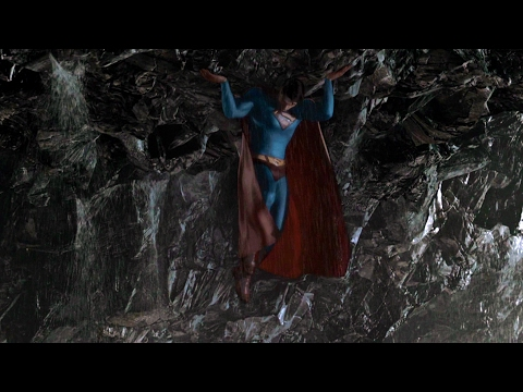 Superman lifts a island | Superman Returns