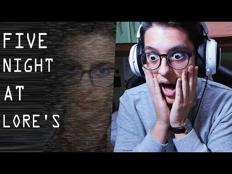 IL MIO GIOCO DI FNAF!! - Five Nights at LorenzIST [ITA]