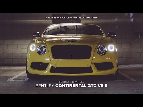 Behind The Wheel: 2014 Bentley New Continental GTC V8 S