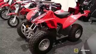 5. 2016 Honda TRX90X Sport ATV - Walkaround - 2015 St Hyacinthe ATV Show