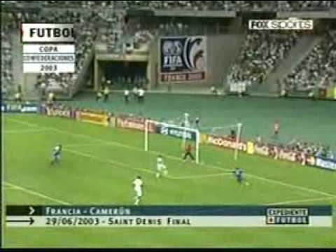 FINAL COPA CONFEDERACIONES 2003, FRANCIA VS CAMERUN