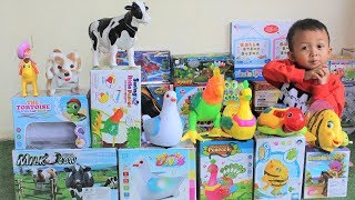 Video Belajar Nama dan Suara Binatang - Anak Pintar Belajar Warna Sambil Unboxing Mainan Binatang MP3, 3GP, MP4, WEBM, AVI, FLV Mei 2019