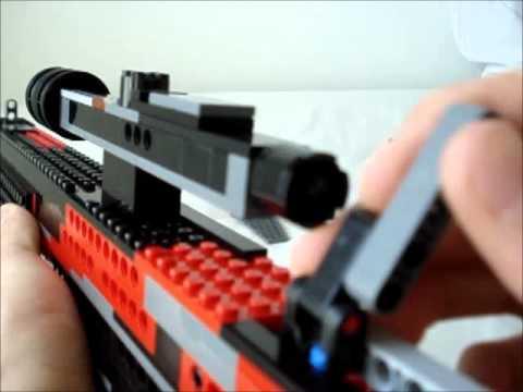 真的可以發射的 Lego Sniper Rifle