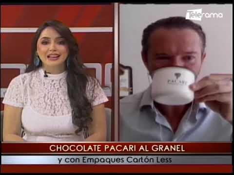 Chocolate Pacari al Granel y con empaques cartón Less
