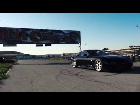 Mazda rx7 fd3s RsR single turbo stance nation drift @ Daytona Cyprus Geopouros