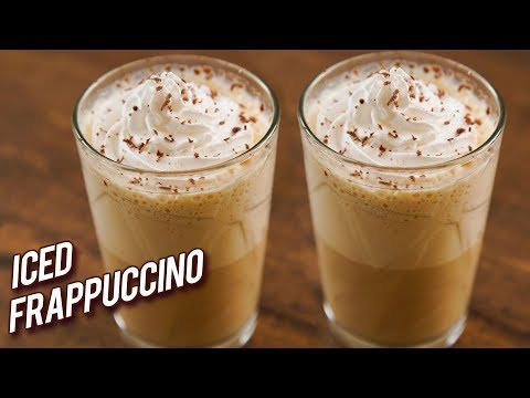 Iced Frappuccino Recipe – How To Make Coffee Frappes – Easiest Homemade Frappuccino Recipe – Bhumika