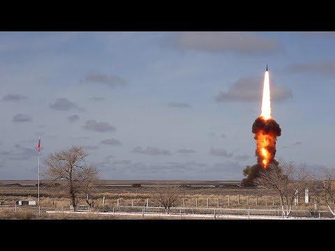 Воздушно-космические силы выполнили испытательный пуск модернизированной противоракеты системы ПРО