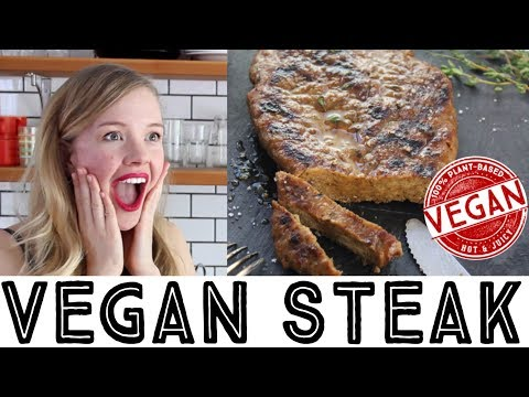 Vegan Seitan Steak - The Best Vegan Steak!