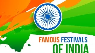 Famous festivals of India