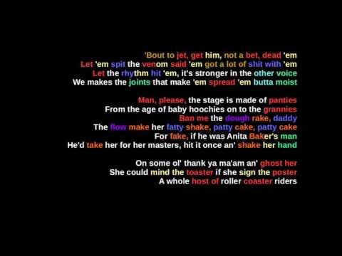 MF DOOM - Figaro - Rhymes Highlighted