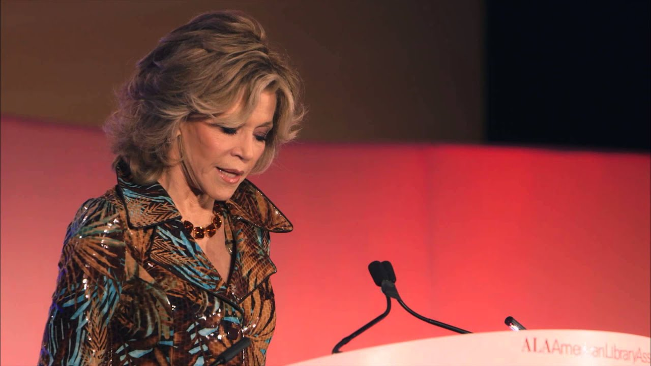 Jane Fonda speaks at 2014 ALA Annual Conference