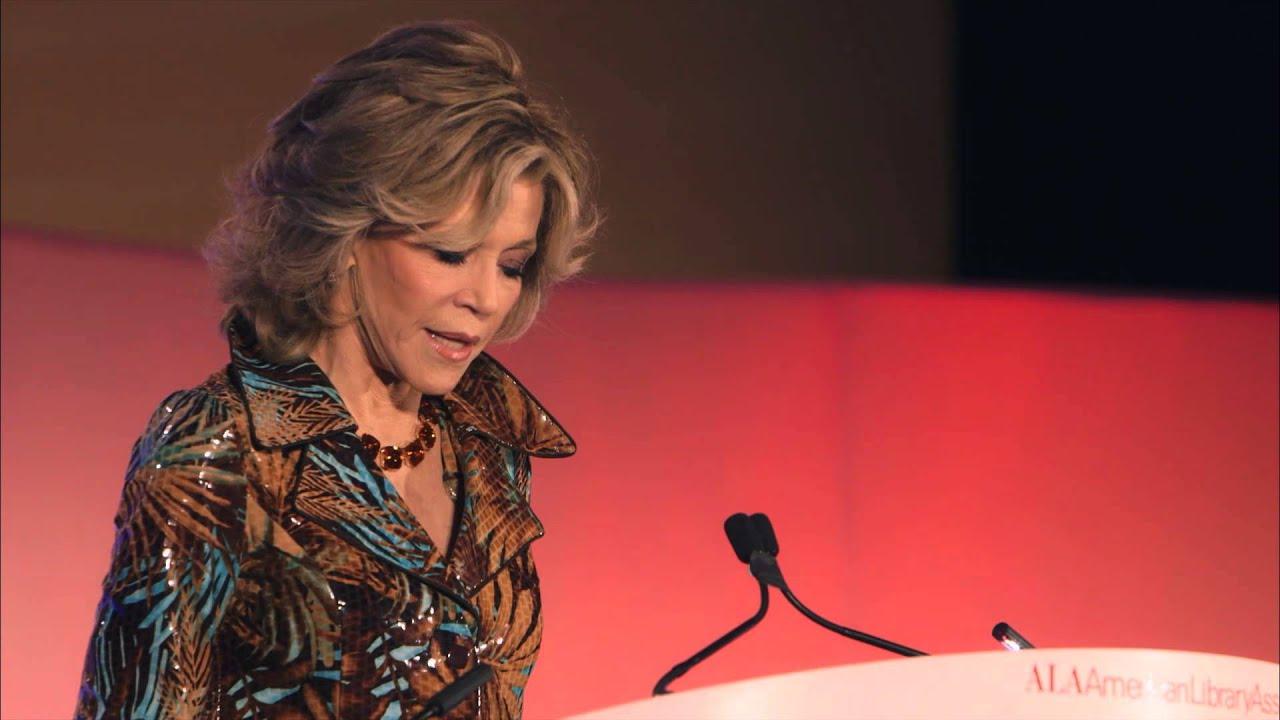 Jane Fonda speaks at 2014 ALA Annual Conference