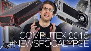 Computex Roundup Part 1! Corsair Bulldog, Windows 10 release date, R9 380, windows 10, windows 10 for phone, windows 10 for pc, windows 10 microsoft