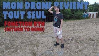 Aujourd'hui je test la précision de la fonction Return To Home (RTH) du DJI Phantom 3 Standard ! Voir le test du drone...