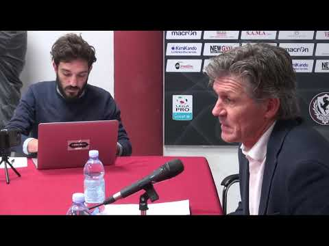 La prima intervista di mr Pavanel in amaranto