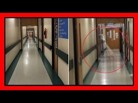 il fantasma della bambina attraversa la corsia di un ospedale!