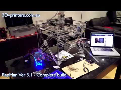 RapMan 3D Printer – Complete Build Process