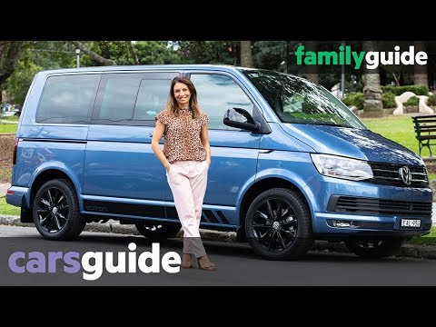 Volkswagen Multivan 2019 review: Black Edition