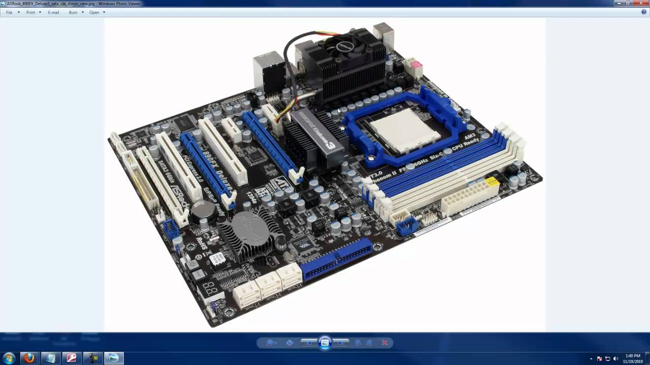 The AMD 800 Series Motherboards