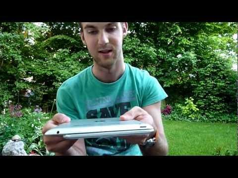 Samsung Galaxy Tab 8.9 3G GT-P7300 Unboxing