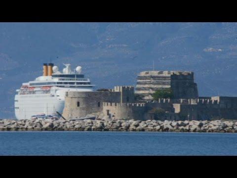 Κρουαζιερόπλοια με 1424 επιβάτες στο Ναύπλιο