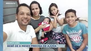 Sorocaba: família de bebê com síndrome rara luta para conseguir leite especial