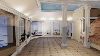 Отделка помещения мансардного этажа.