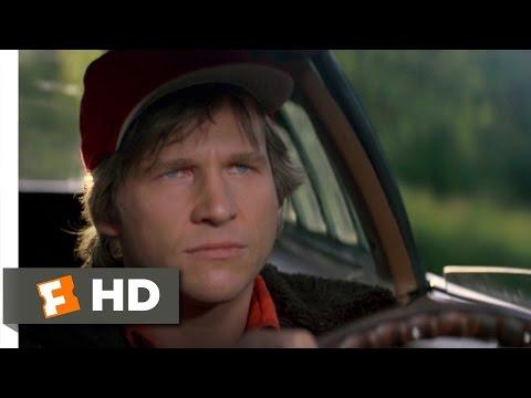 Starman (3/8) Movie CLIP - Yellow Light, Go Very Fast (1984) HD