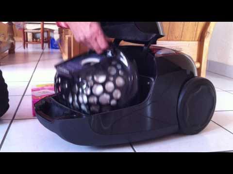 Comment changer le sac d'un aspirateur - poussière