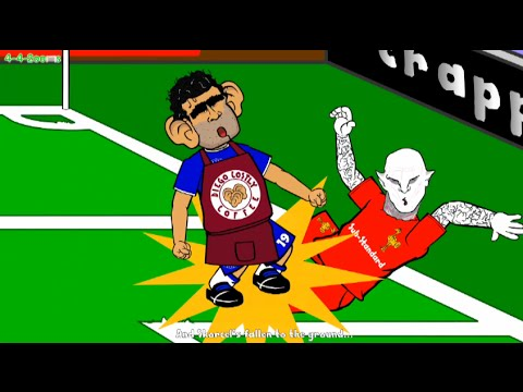 UNSEEN DIEGO COSTA STAMPS! Chelsea Liverpool 1-0 Highlights 442oons Cartoon