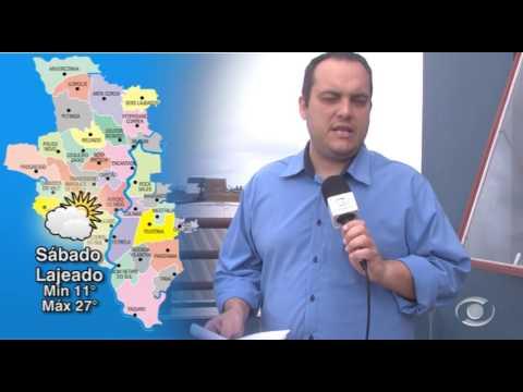 Vídeo Previsão do Tempo 21 10 2016