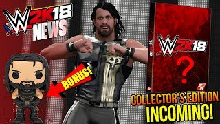 WWE 2K18 News: COLLECTOR'S EDITION REVEAL INCOMING, EXTRA Pre-Order BONUS, NEW Scans [#WWE2K18News]...Hit The LIKE! 👍🏼 & Turn ON Notifications🛎► Follow Me!• Twitter - https://twitter.com/MachoT_YT💪 JOIN ME! HELP ME REACH ➡️  50,000 ⬅️ SUBSCRIBERS!SUBSCRIBE! For WWE 2K Games + WWE News & Rumors!In this video I have News coverage of WWE 2K18, the next WWE Game...Join Me to be UPDATED on all News/Rumors/Info, & Announcements heading into the release of the game!► Popular Playlist! WWE 2K18 News Playlist:•https://goo.gl/AUesTnChannel Description:• All Things WWE & WWE 2K Games. Multiple News & Rumors Round-Up Episodes throughout the week, keeping you guys up to date on all the News & Rumors in Wrestling, leading up to Raw, Smackdown, NXT, & PPVs like Wrestlemania! Also WWE 2K17 Content & Upcoming WWE 2K Games, WWE 2K18 News!►For WWE News/Rumors & WWE 2K18 Content, Updates, & Tutorials • SUBSCRIBE! - https://www.youtube.com/c/DRsMachoTThank You For Watching!- Macho T