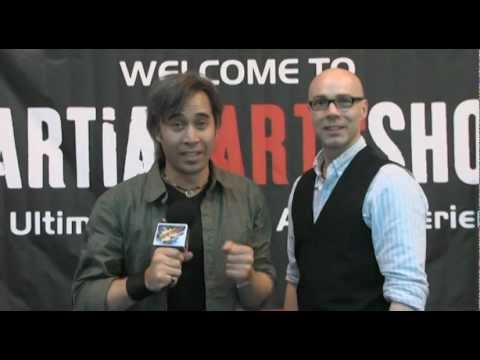 Sifu Julian Dale was interviewed at the Martial Arts Expo by Jackson Raine for Kapow TV