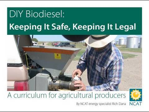 DIY Biodiesel: Keeping It Safe, Keeping It Legal