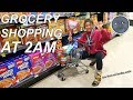 GROCERY SHOPPING AT 2AM