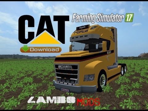 Caterpillar Scania Stax Truck v1