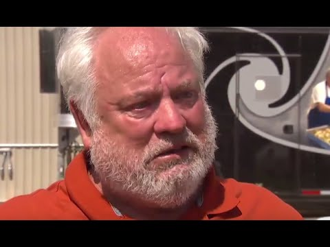 Trump Supporter Tearful About His Louisiana Visit