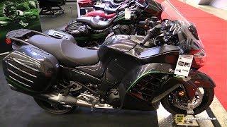 10. 2018 Kawasaki Concours 14 ABS - Walkaround - 2018 Montreal Motorcycle Show