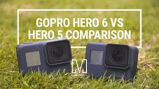 Video GoPro HERO 6 Black vs HERO 5 Black Comparison MP3, 3GP, MP4, WEBM, AVI, FLV November 2018