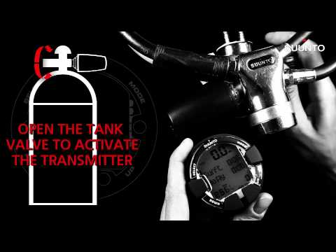 Suunto Vyper Air / helO2 - How to pair with transmitter