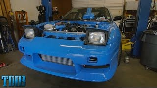 THE ENGINE IS IN!-PROJECT 240SMURRFX(Ep.24) by That Dude in Blue