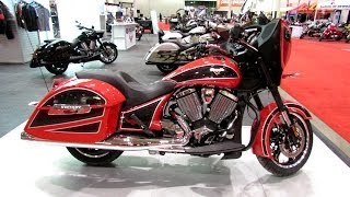 8. 2014 Victory Ness Cross Country Walkaround - 2014 Toronto Motorcyle Show