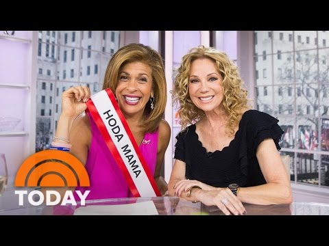 Hoda Kotb's Tearful Reunion With Kathie Lee Gifford: 'Where's My Other Girl?' | TODAY
