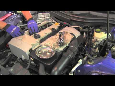 Replacing Spark Plugs Mercedes SLK230 Kompressor