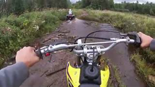 6. DEEP Puddles and Rocky Trails on a Suzuki DRZ 125L
