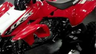 4. 2013 Honda TRX450R TRX450ER ATV SALE Red & Black Walk Around Honda of Chattanooga in TN