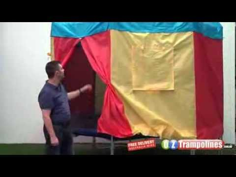 Trampoline Tent - Trampoline With Tent