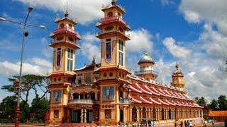 Tay Ninh Vietnam  city photo : Cao Dai Temple Tay Ninh , Vietnam